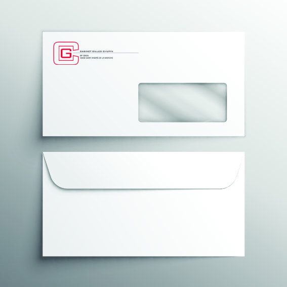 Enveloppes commerciales