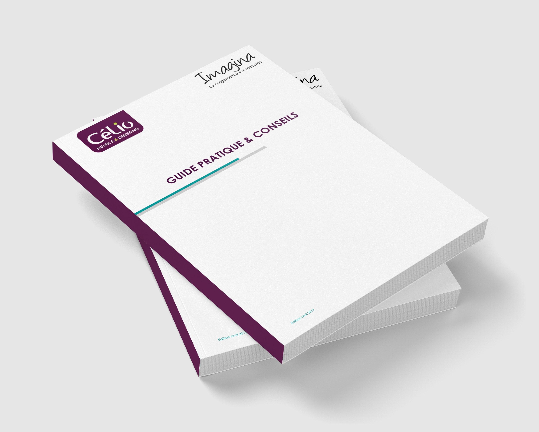 Guide pratique 88 pages dos carré collé